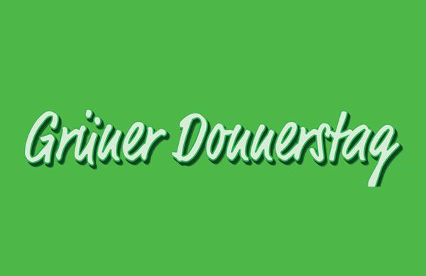 Grüner Donnerstag in Fürstenfeldbruck