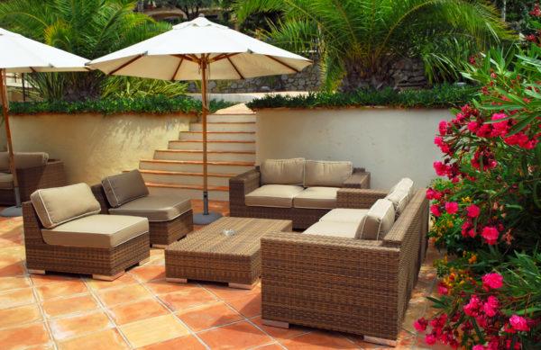 Gartenmöbel aus Kunststoff