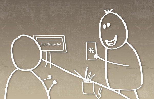 Sparen Sie bei jedem Einkauf mit unserer Kundenkarte